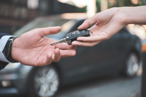 chave de um carro